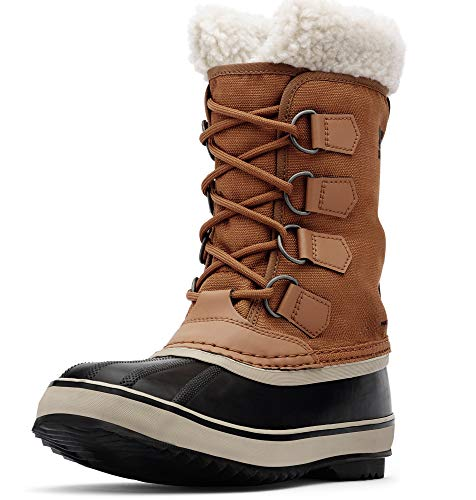 Sorel - Women's Winter Carnival Waterproof Boot for Winter, Camel Brown, 9.5 M US