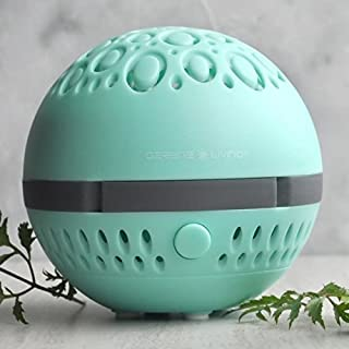 Greenair Serene Living Aromasphere Teal Essential Oil Diffuser for Aromatherapy, 0.5 Pound