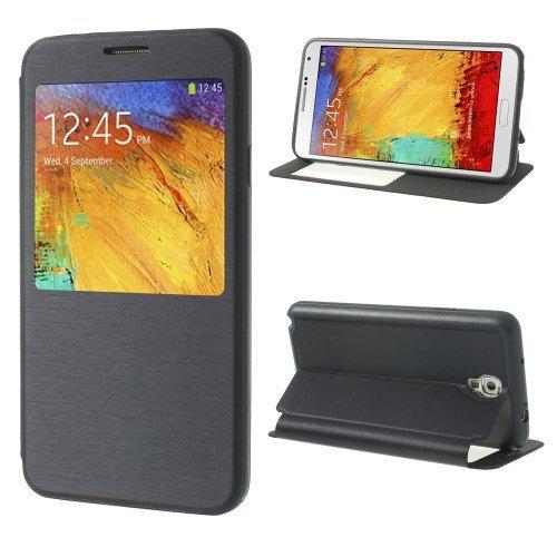 Unbekannt Flip Hülle Handy-Hülle Etui Business Hülle Cover Ständer Navy-blau Samsung Galaxy Note 3 Neo 3G / SM-N750, Galaxy Note 3 Neo LTE/GT-N7505