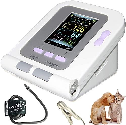 LLLZM Brazalete de esfigmomanómetro, Tensiómetro de Brazo, para Gatos, Perros, animalesMonitor de presión Arterial