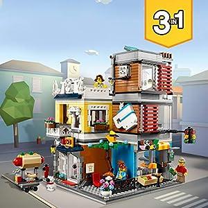 Amazon.co.jp - レゴ クリエイター タウンハウス ペットショップ&カフェ 31097