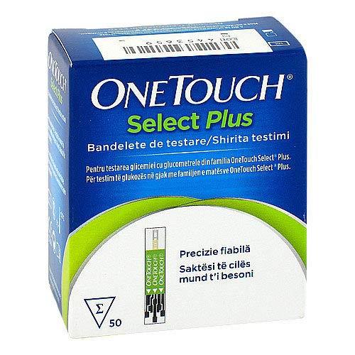 ONE TOUCH Select Plus Blutzucker Teststreifen Imp. 50 St Teststreifen