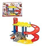 Motor Town- Garage per Bambini a 2 Livelli con Veicolo, 46487
