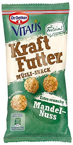 Dr. Oetker Vitalis Kraftfutter Mandel-Nuss, 7er Pack (7 x 40 g)