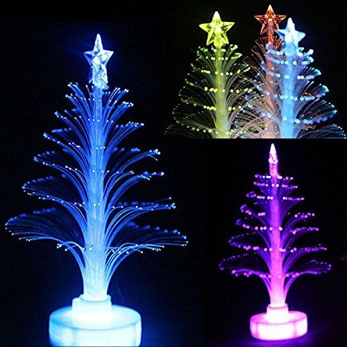 Riklos LED Nachtlicht Weihnachtsbaum Party Home Schreibtisch Dekoration Bunte Lampe
