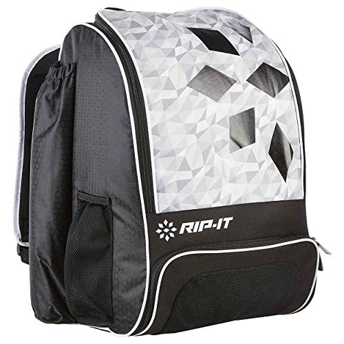 RIP-IT Classic Diamond Softball Backpack Bat Bag Black OS