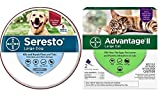 Seresto Flea and Tick Collar for Large Dogs, 8Month Tick and Flea Control for Dogs Over 18 lbs. + 2