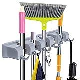 Mop and Broom Holder Wall Mount - CINEYO - Heavy Duty...