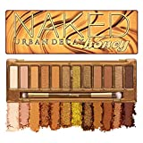 YOU LOOK BETTER NAKED - Urban Decay Naked Honey Eyeshadow Palette features 12 decadent golden neutrals in richly pigmented mattes, metallics, and shimmers that work with every eye color and skin tone. HIGH-PIGMENT SHADES - Naked Honey palette shades ...