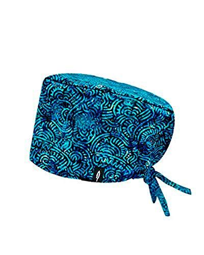 ROBIN HAT - Cuffie da sala Operatoria AZTECA - CAPELLI LUNGHI- 100% cotone (Autoclave) - Massima comodità