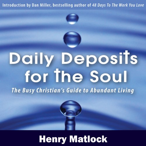 Daily Deposits for the Soul audiobook cover art