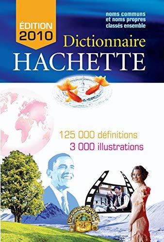 Dictionnaire Hachette 2010 Export