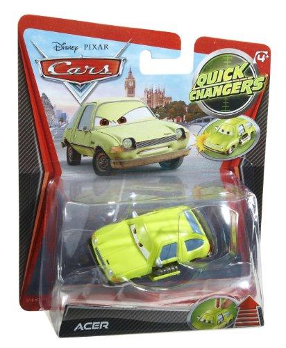 Cars - X2211 - Véhicule Miniature - Quick Change - Grem Arme