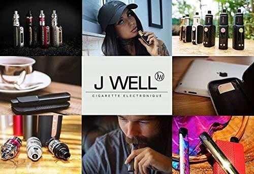 E Starter Kit JWell Gecko Doodle Schlank E-Zigarette Shisha Starter Set Kit mit 1.8 Ohm/ 2.0ml Verdampfer Zigaretten 900mah Akku Starterset Dampfer Vape, E liquid/Ohne Nikotin Ohne Tabak Farbe
