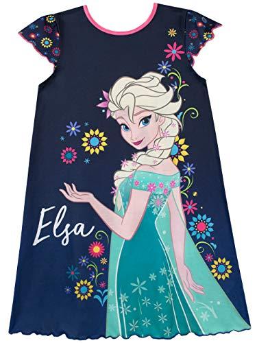 Disney Mädchen Frozen Die Eiskönigin Nachthemden Mehrfarbig 128