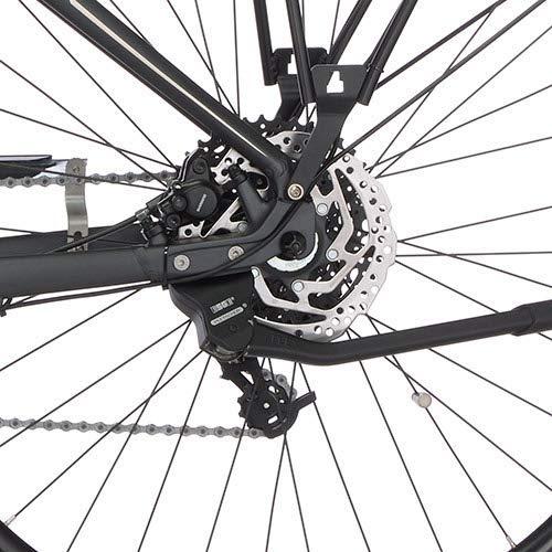 FISCHER Damen – E-Bike Trekking VIATOR 5.0i (2020), grau matt, 28 Zoll, RH 49 cm, Brose Drive C Mittelmotor 50 Nm, 36V Akku im Rahmen Bild 5*