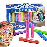 XinqinDing Kinderschminke Face Paint Kreiden Set