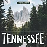 """Tennessee 2022 Calendar: From January 2022 to December 2022 - Square Mini Calendar 8.5x8.5"""" - Small Gorgeous Non-Glossy Paper"""