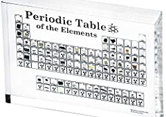 ✔️ The world's first acrylic handheld collection of all the stable elements on the periodic table. ✔️ Includes 83 elements embedded in crystal clear acrylic. ✔️ Made in the USA (Patent No. D893,619) ✔️ Some elements are more expensive than gold. ✔️ T...