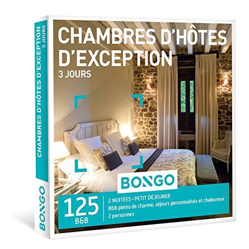 BONGO Belgique - Coffret Cadeau - CHAMBRES DHÔTES DEXCEPTION