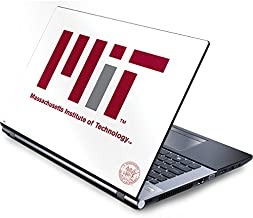 Skinit Decal Laptop Skin for Generic 17in Laptop (15.2in X 9.9in) - Officially Licensed Massachusetts Institute of Technology MIT White Logo Design