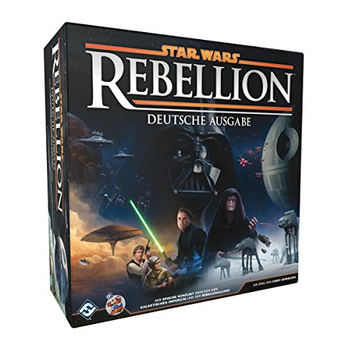 Asmodee Star Wars: Rebellion, Grundspiel, Tabletop, Deutsch