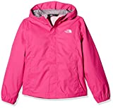 The North Face Resolve – Chaqueta para niña, Color Petticoat Pink, tamaño Small