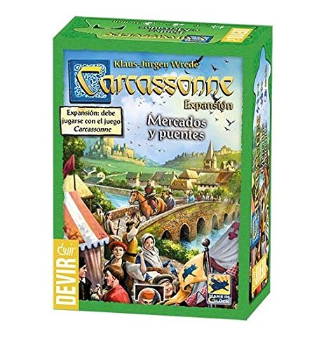 Promohobby Expansion Carcassonne: Mercados y Puentes