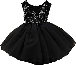XIPAI Princess Tulle Tutu Girl Dress Wedding Pageant Party Baby Dresses Sequin Backless Lace Flowers Newborn-7 Years
