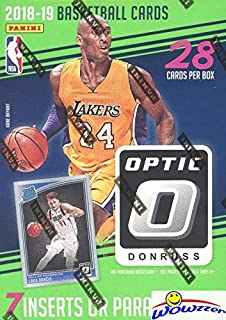 2018/19 Panini Donruss OPTIC NBA Basketball EXCLUSIVE Factory Sealed Retail Box with (7) INSERTS or PARALLELS! Look for Rookies & Autos of Luka Doncic, Trae Young, Deandre Ayton & More! WOWZZER!