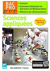 Sciences appliquées 2de, 1re, Tle Bac Pro Cuisine et CSR (2016) - Pochette élè de CATHERINE ARMAGNAC