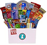 College Survival Kit Care Package - 40 Plus Favorite Traditional Snacks & Treats
