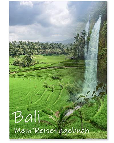 Reisetagebuch Bali zum Selberschreiben | Tagebuch - Notizbuch mit viel Abwechslung, spannenden Aufgaben, tollen Fotos uvm. | gestalte deinen individuellen Reiseführer für Asien | Calmondo