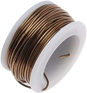 BeadSmith Antique Vintage Bronze Brass Color Copper Craft Wire 18 Gauge - 7 Yds