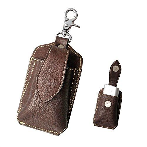 gloケース グローケース レザー 本革 カーフスキン 両面ポケット オイルレザー キーホルダー