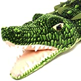 Kuwat The Saltwater Crocodile - 56 Inch Long Big Stuffed Animal Plush Alligator - by Tiger Tale Toys