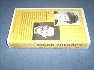 COLON THERAPY (1988 VHS Videocassette) Lee DuBelle with Muscle-colon Therapist Ron Geschwenter (Give Yourself Some Lee-way, III)