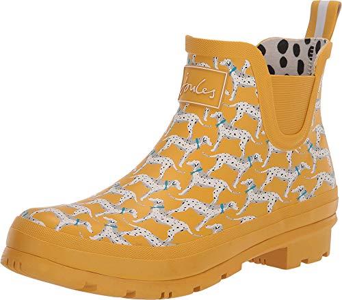 Joules Wellibob Chelsea Boot Gold Dog 8 B (M)