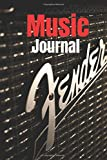 Music Journal: Music Journal (Diary, Notebook) / 100 pages /6.14 x 0.25 X 9.21 inches Paperback