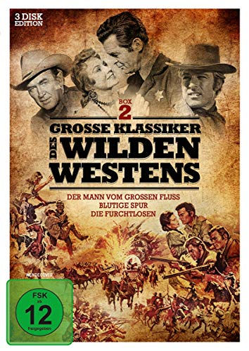 Große Klassiker des Wilden Westens - Box 2 [3 DVDs]