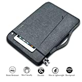 Ferkurn 13 inch 13.3 inch Laptop Sleeve with Handle Compatible MacBook air 13, MacBook pro 13, XPS, HP, Surface Laptop, iPad Pro 12.9, Chromebook, 13.5 Laptop Case Carrying Bag Computer Sleeve Grey