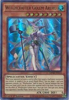 Witchcrafter Golem Aruru - MP20-EN113 - Ultra Rare - 1st Edition