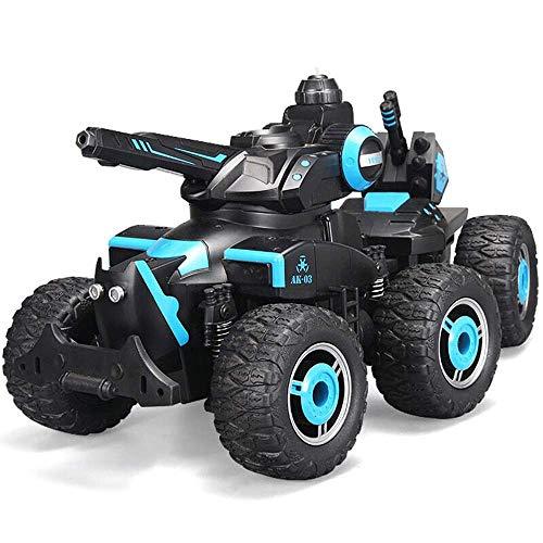 Ferngesteuertes Auto, Kinder Fernbedienung Auto Buggy RC Auto 2.4Ghz 4WD High Speed All Direction Drive Tank Battle...