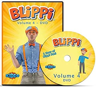 Blippi - Volume 4 DVD - Educational Videos for Kids