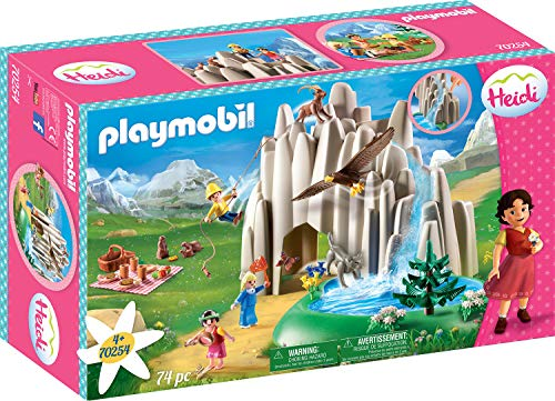 Playmobil 70254 at The Crystal Lake with Heidi, Peter and Clara - New 2019