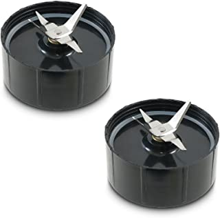 Two Pack of Cross Blades a Spare Replacement Part for Magic Bullet Blender MB1001 Model, Juicer and Mixer