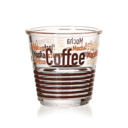 Ritzenhoff & Breker Espressoglas, Espresso Tasse, Becher, Glas, 95 ml, 167382