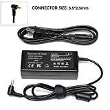 19v 3.42A AC Adapter Charger for Toshiba Satellite C55 C55-A5302 C55-A5308 C55-A5309 C655-S5512 C655-S5514 C675 C855-S5214 L30 L745 L745D L750 Satellite Radius 11 14 15