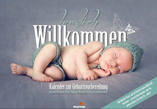 SCHWANGERSCHAFTSKALENDER: Kalender zur Geburtsvorbereitung: Individueller Wochenkalender ab dem ersten Tag.