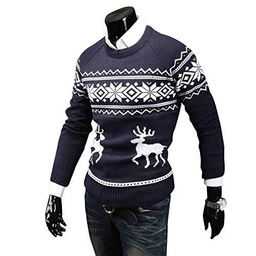 Christmas Sweater Men Fawn